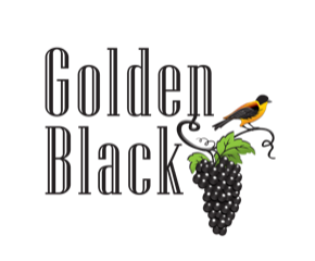 logo golden black
